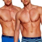 2pack pánských boxerek 35393 blue
