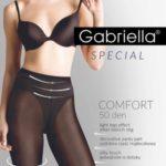 Punčochové kalhoty Gabriella Comfort 3D 400 50 den 5-XL
