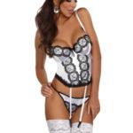 Dámský korzet Michele corset white