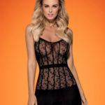 Košilka D605 dress – Obsessive