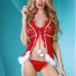 Vánoční kostým Christmas Lady – Livia Corsetti