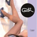 FUNNY -03 Dámské punčochové kalhoty LYCRA – GATTA