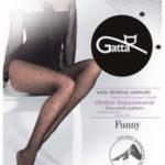 FUNNY – 05  Dámské punčochové kalhoty LYCRA – GATTA