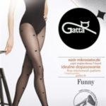 FUNNY – 09 Dámské punčochové kalhoty LYCRA – GATTA