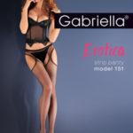 Síťované punčochové kalhotky kabaretky EROTICA STRIP PANTY 151 – GABRIELLA