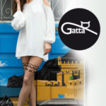 SWEETY – Dámské vzorované punčochové kalhoty – GATTA