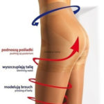 Punčochové kalhoty PUSH-UP 20.. – MONA