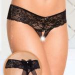 Erotická tanga 2403 black