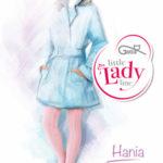 HANIA – vzorované punčochové kalhoty – GATTA LITTLE LADY LINE