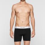 Boxerky 2 Pack Trunks Modern Cotton NB1087A001 černá – Calvin Klein