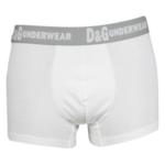Pánské boxerky M30494 white – Dolce Gabbana