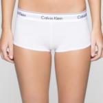 Šortky F3788E-100 bílá – Calvin Klein