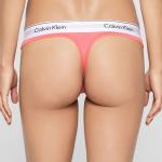 Tanga Thong Modern Cotton F3786E6OI světle růžová – Calvin Klein